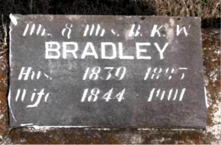 BRADLEY, MRS B.K.W. - Carroll County, Arkansas   MRS B.K.W. BRADLEY - Arkansas Gravestone Photos
