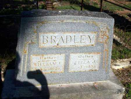 BRADLEY, ELIZA J - Carroll County, Arkansas | ELIZA J BRADLEY - Arkansas Gravestone Photos