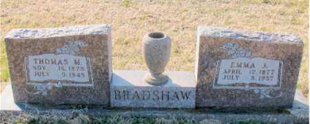 BRADSHAW, EMMA J. - Carroll County, Arkansas | EMMA J. BRADSHAW - Arkansas Gravestone Photos
