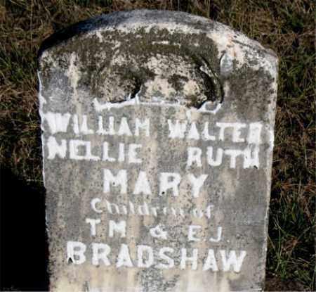 BRADSHAW, NELLIE  RUTH - Carroll County, Arkansas | NELLIE  RUTH BRADSHAW - Arkansas Gravestone Photos