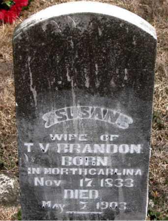 BRANDON, SUSAN - Carroll County, Arkansas | SUSAN BRANDON - Arkansas Gravestone Photos