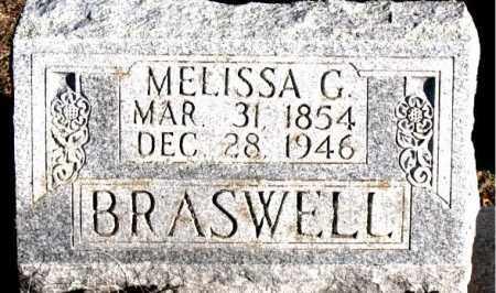 BRASWELL, MELISSA  G. - Carroll County, Arkansas   MELISSA  G. BRASWELL - Arkansas Gravestone Photos