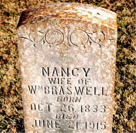 BRASWELL, NANCY - Carroll County, Arkansas   NANCY BRASWELL - Arkansas Gravestone Photos