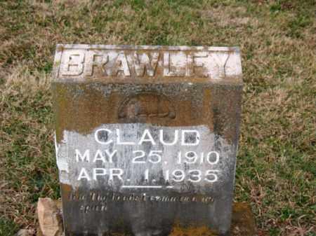 BRAWLEY, CLAUD - Carroll County, Arkansas   CLAUD BRAWLEY - Arkansas Gravestone Photos