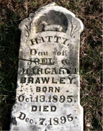 BRAWLEY, HATTY - Carroll County, Arkansas | HATTY BRAWLEY - Arkansas Gravestone Photos