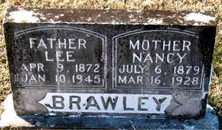 BRAWLEY, LEE - Carroll County, Arkansas   LEE BRAWLEY - Arkansas Gravestone Photos