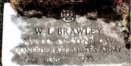 BRAWLEY (VETERAN CSA), W L - Carroll County, Arkansas | W L BRAWLEY (VETERAN CSA) - Arkansas Gravestone Photos