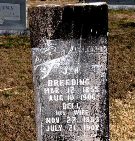 BREEDING, BELL - Carroll County, Arkansas | BELL BREEDING - Arkansas Gravestone Photos