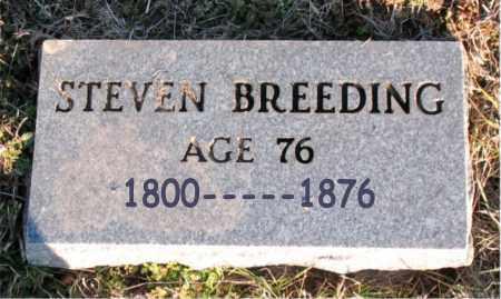 BREEDING, STEVEN - Carroll County, Arkansas | STEVEN BREEDING - Arkansas Gravestone Photos
