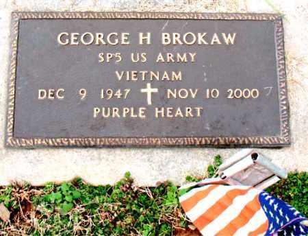 BROKAW (VETERAN VIET), GEORGE H. - Carroll County, Arkansas | GEORGE H. BROKAW (VETERAN VIET) - Arkansas Gravestone Photos