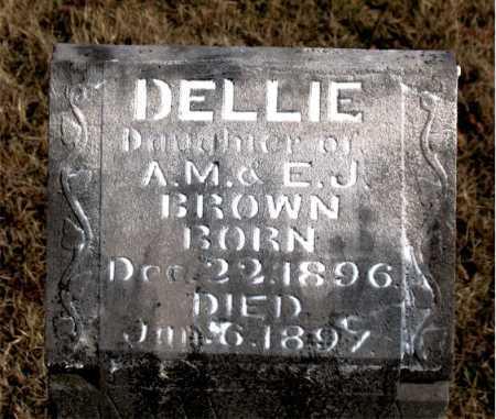 BROWN, DELLIE - Carroll County, Arkansas | DELLIE BROWN - Arkansas Gravestone Photos