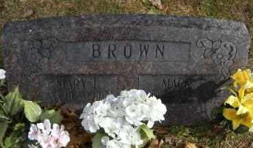BROWN, MARY I - Carroll County, Arkansas | MARY I BROWN - Arkansas Gravestone Photos