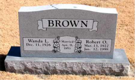BROWN, ROBERT  O. - Carroll County, Arkansas   ROBERT  O. BROWN - Arkansas Gravestone Photos