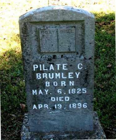 BRUMLEY, PILATE C - Carroll County, Arkansas | PILATE C BRUMLEY - Arkansas Gravestone Photos