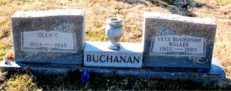 BUCHANAN, GLEN C. - Carroll County, Arkansas | GLEN C. BUCHANAN - Arkansas Gravestone Photos