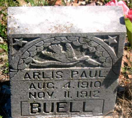 BUELL, ARLIS PAUL - Carroll County, Arkansas | ARLIS PAUL BUELL - Arkansas Gravestone Photos
