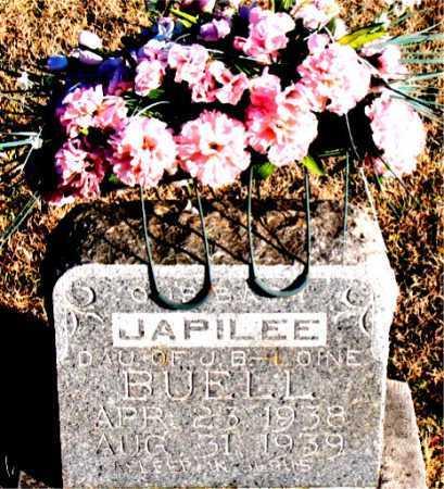 BUELL, JAPILEE - Carroll County, Arkansas   JAPILEE BUELL - Arkansas Gravestone Photos