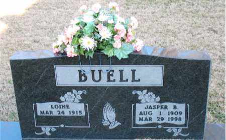 BUELL, JASPER B. - Carroll County, Arkansas | JASPER B. BUELL - Arkansas Gravestone Photos