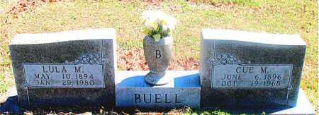 BUELL, CUE MCKINLEY - Carroll County, Arkansas | CUE MCKINLEY BUELL - Arkansas Gravestone Photos