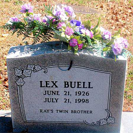 BUELL, LEX - Carroll County, Arkansas | LEX BUELL - Arkansas Gravestone Photos