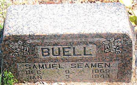 BUELL, SAMUEL SEAMEN - Carroll County, Arkansas | SAMUEL SEAMEN BUELL - Arkansas Gravestone Photos