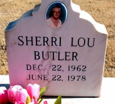 BULTER, SHERRI LOU - Carroll County, Arkansas   SHERRI LOU BULTER - Arkansas Gravestone Photos