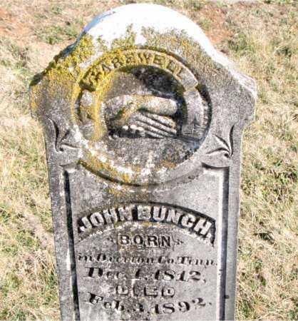 BUNCH, JOHN - Carroll County, Arkansas   JOHN BUNCH - Arkansas Gravestone Photos