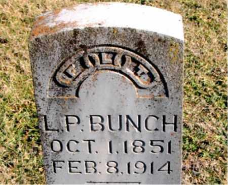 BUNCH, L. P. - Carroll County, Arkansas   L. P. BUNCH - Arkansas Gravestone Photos