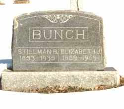 REEVES BUNCH, ELIZABETH JANE - Carroll County, Arkansas | ELIZABETH JANE REEVES BUNCH - Arkansas Gravestone Photos