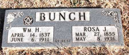 BUNCH, WILLIAM H. - Carroll County, Arkansas | WILLIAM H. BUNCH - Arkansas Gravestone Photos