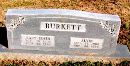 BURKETT, ALVIN - Carroll County, Arkansas | ALVIN BURKETT - Arkansas Gravestone Photos