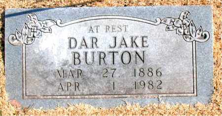 BURTON, DAR JAKE - Carroll County, Arkansas | DAR JAKE BURTON - Arkansas Gravestone Photos