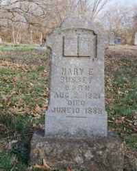 DENNEY BUSSEY, MARY ELIZABETH - Carroll County, Arkansas | MARY ELIZABETH DENNEY BUSSEY - Arkansas Gravestone Photos