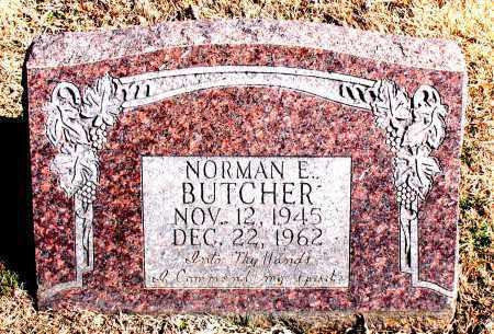 BUTCHER, NORMAN  E. - Carroll County, Arkansas | NORMAN  E. BUTCHER - Arkansas Gravestone Photos