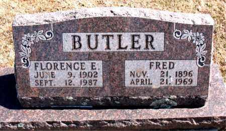 BUTLER, FLORENCE E. - Carroll County, Arkansas | FLORENCE E. BUTLER - Arkansas Gravestone Photos