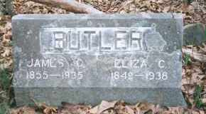 MOORE BUTLER, ELIZA CATHERINE - Carroll County, Arkansas | ELIZA CATHERINE MOORE BUTLER - Arkansas Gravestone Photos