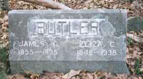 BUTLER, ELIZA CATHERINE - Carroll County, Arkansas | ELIZA CATHERINE BUTLER - Arkansas Gravestone Photos