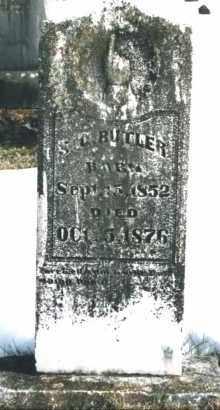 BUTLER, SENECA D. - Carroll County, Arkansas | SENECA D. BUTLER - Arkansas Gravestone Photos