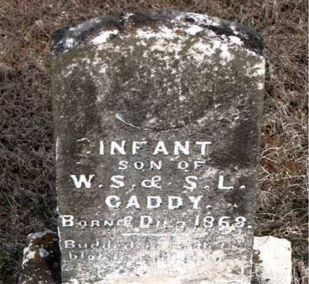 CADDY, INFANT SON - Carroll County, Arkansas   INFANT SON CADDY - Arkansas Gravestone Photos