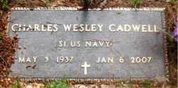 CADWELL (VETERAN), CHARLES WESLEY - Carroll County, Arkansas   CHARLES WESLEY CADWELL (VETERAN) - Arkansas Gravestone Photos