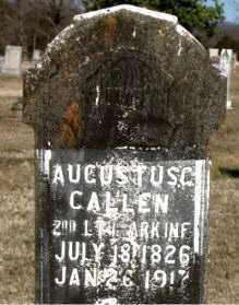 CALLEN (VETERAN UNION), AUGUSTUS G - Carroll County, Arkansas   AUGUSTUS G CALLEN (VETERAN UNION) - Arkansas Gravestone Photos