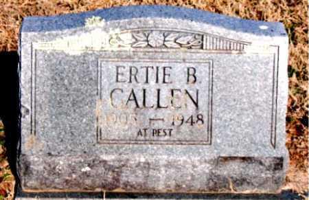 CALLEN, ERTIE B - Carroll County, Arkansas | ERTIE B CALLEN - Arkansas Gravestone Photos