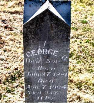 CALLEN, GEORGE G - Carroll County, Arkansas   GEORGE G CALLEN - Arkansas Gravestone Photos