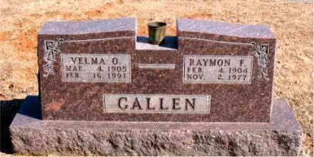 CALLEN, VELMA  O. - Carroll County, Arkansas | VELMA  O. CALLEN - Arkansas Gravestone Photos