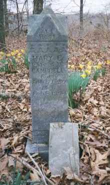 NORTON CAMBELL, MARY ELIZABETH - Carroll County, Arkansas | MARY ELIZABETH NORTON CAMBELL - Arkansas Gravestone Photos