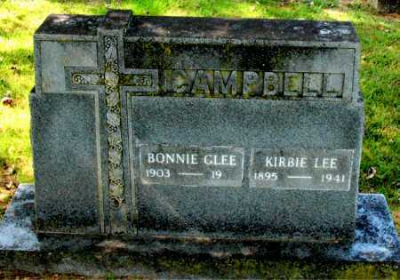 CAMPBELL, KIRBIE LEE - Carroll County, Arkansas   KIRBIE LEE CAMPBELL - Arkansas Gravestone Photos