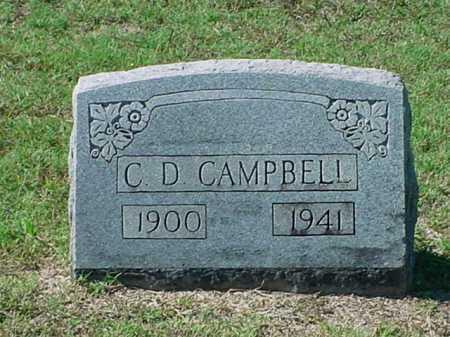 CAMPBELL, C  D - Carroll County, Arkansas | C  D CAMPBELL - Arkansas Gravestone Photos