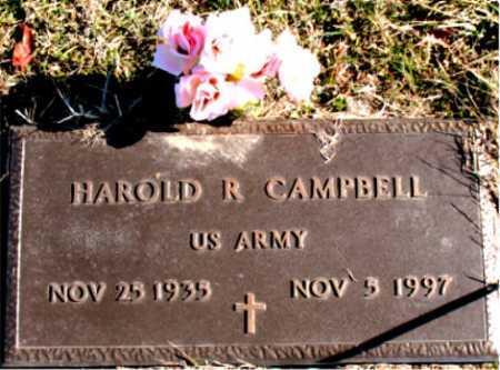 CAMPBELL  (VETERAN), HAROLD R. - Carroll County, Arkansas | HAROLD R. CAMPBELL  (VETERAN) - Arkansas Gravestone Photos