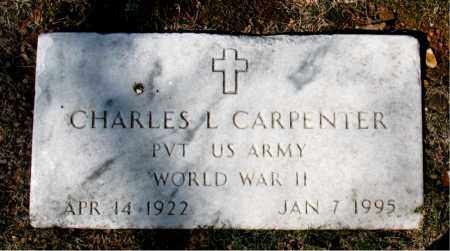 CARPENTER (VETERAN WWII), CHARLES L - Carroll County, Arkansas | CHARLES L CARPENTER (VETERAN WWII) - Arkansas Gravestone Photos