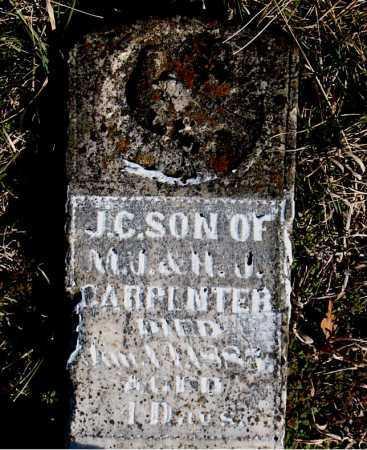 CARPENTER, J  C - Carroll County, Arkansas   J  C CARPENTER - Arkansas Gravestone Photos